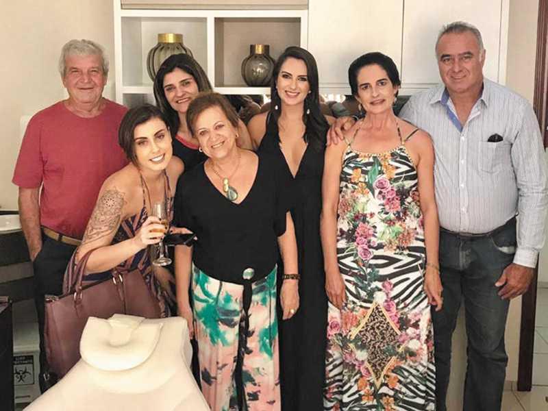João, Dainae, Dra. Christiane, Christina, José Antônio, Anabel e Marly