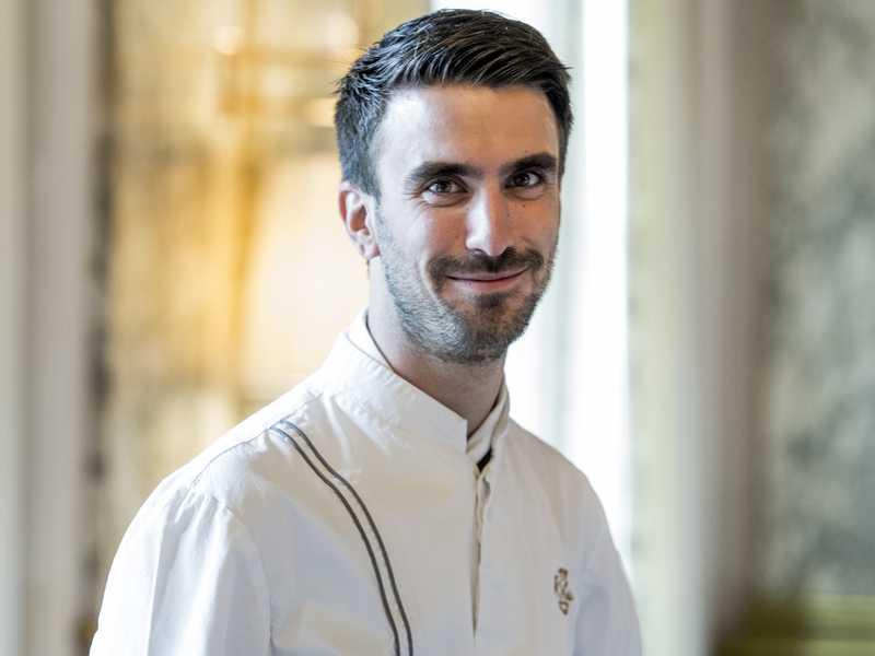 Cédric Grolet chef pâtissier du Meurice