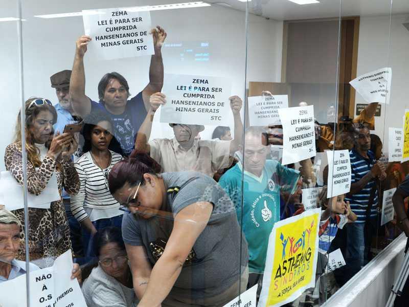 Baixos valores repassados para o setor da Saúde foram motivos de protestos na Assembleia Legislativa