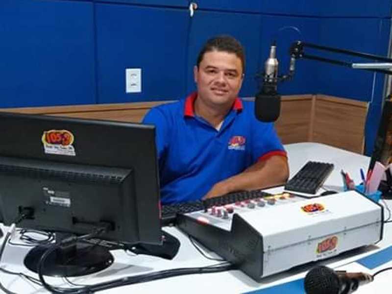 Radialista e Diretor André Eduardo de Carvalho