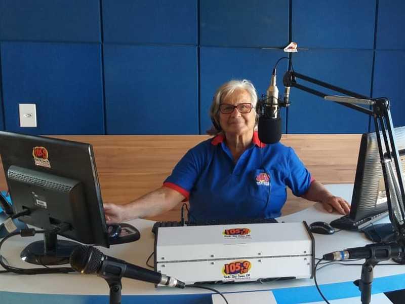 Radialista Maria Luiz Lequeri