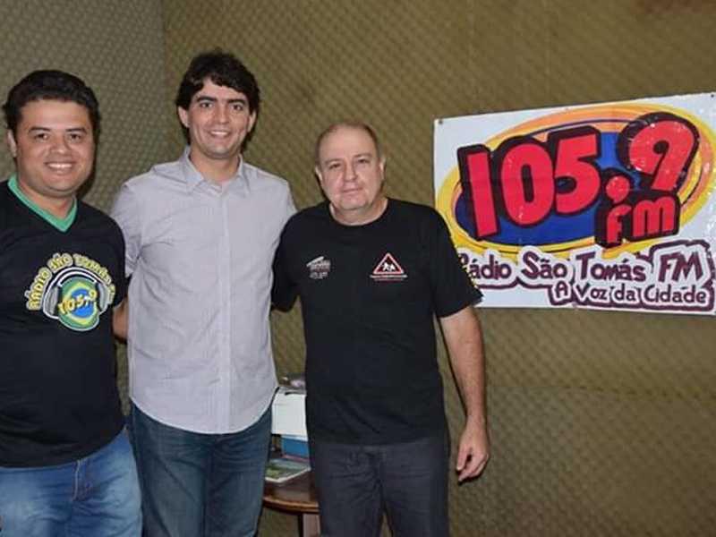 Deputado Cássio Soares, André e Tenente Corsi