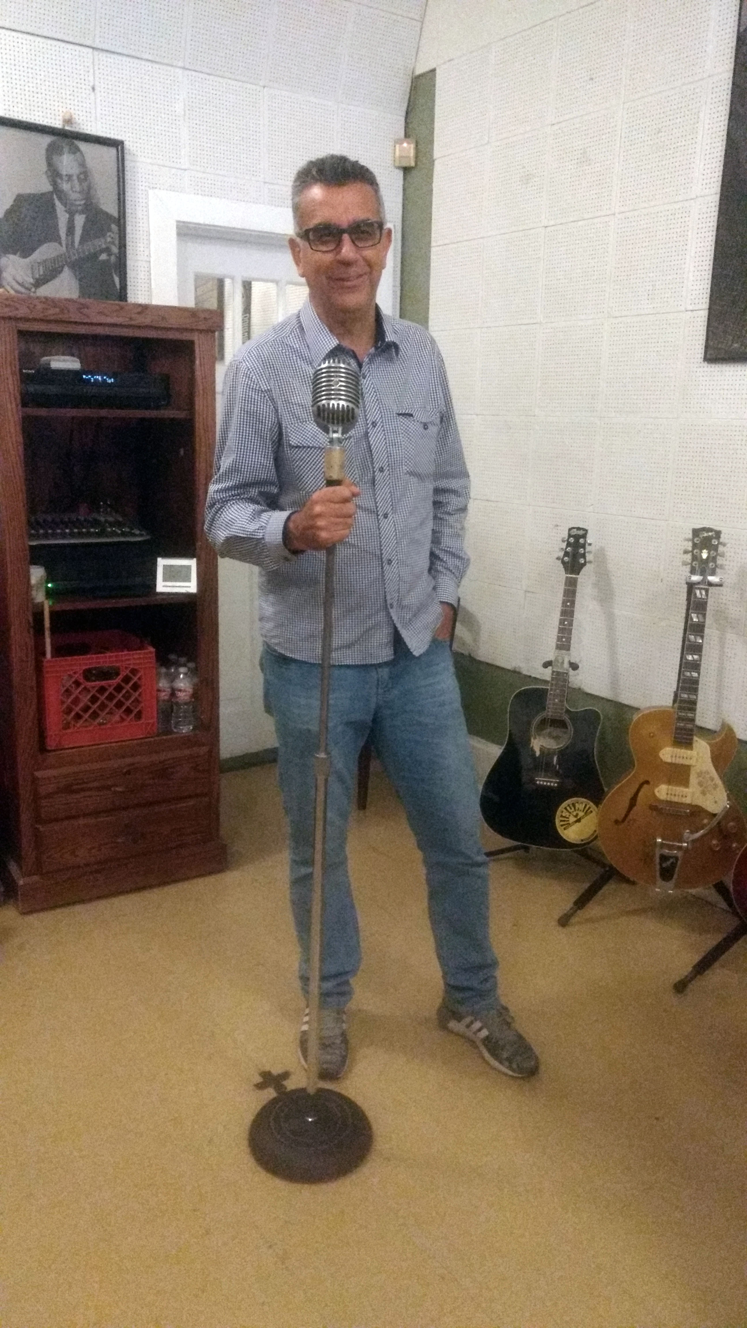 Microfone usado nas gravações históricas da Sun Records