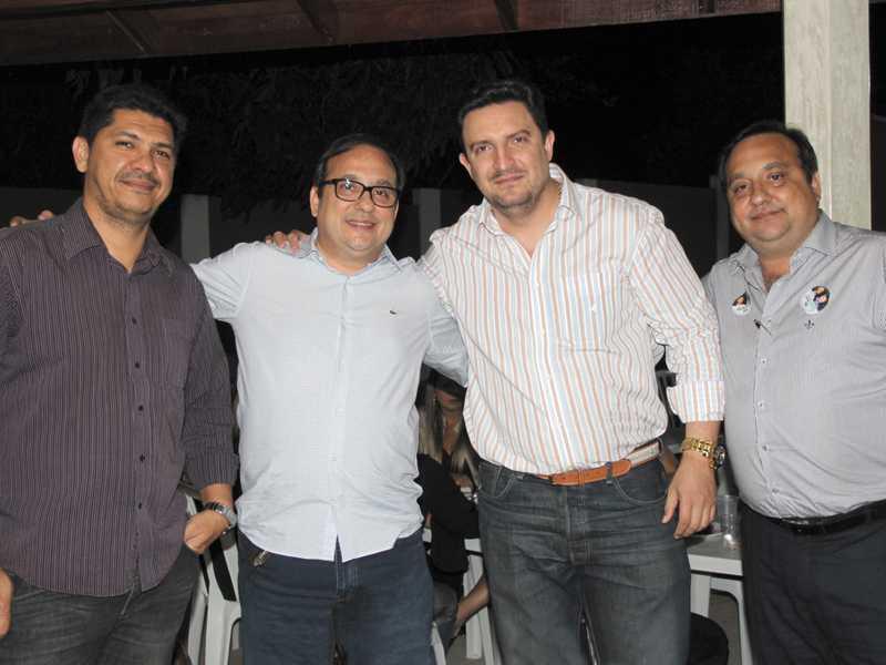 Fabrício, Antônio Carlos, Delsom e Alvaro