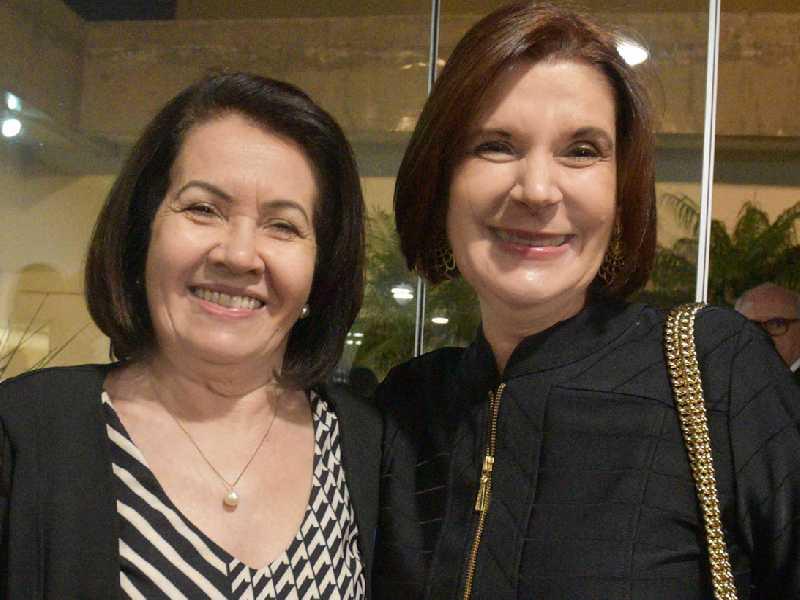 Ministras, Laurita Vaz e Elizabeth Rocha