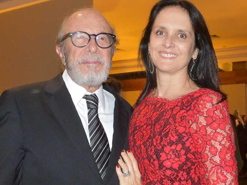 O advogado José Maciel e Mônica