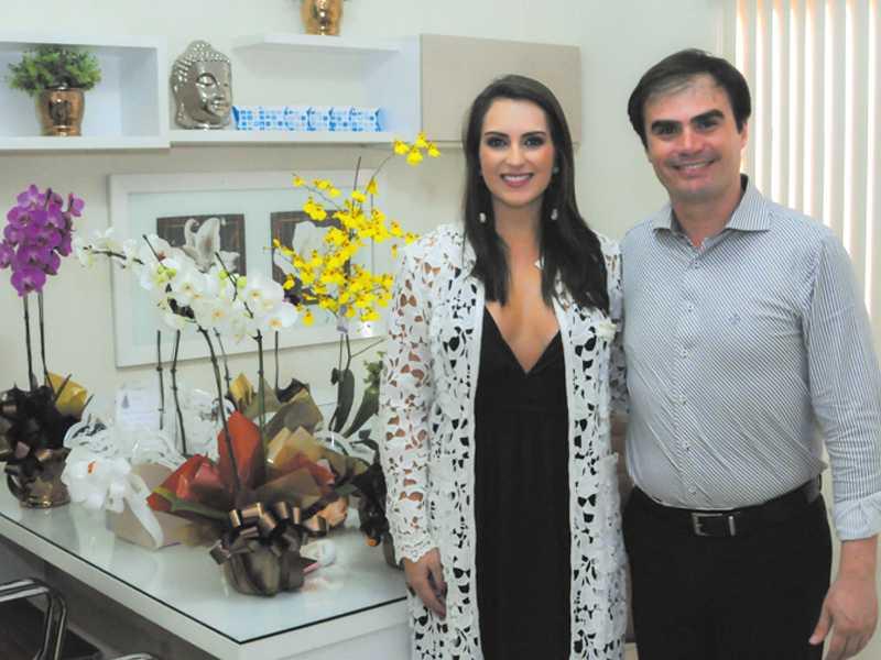 Dra. Christiane e Dr. Anderson