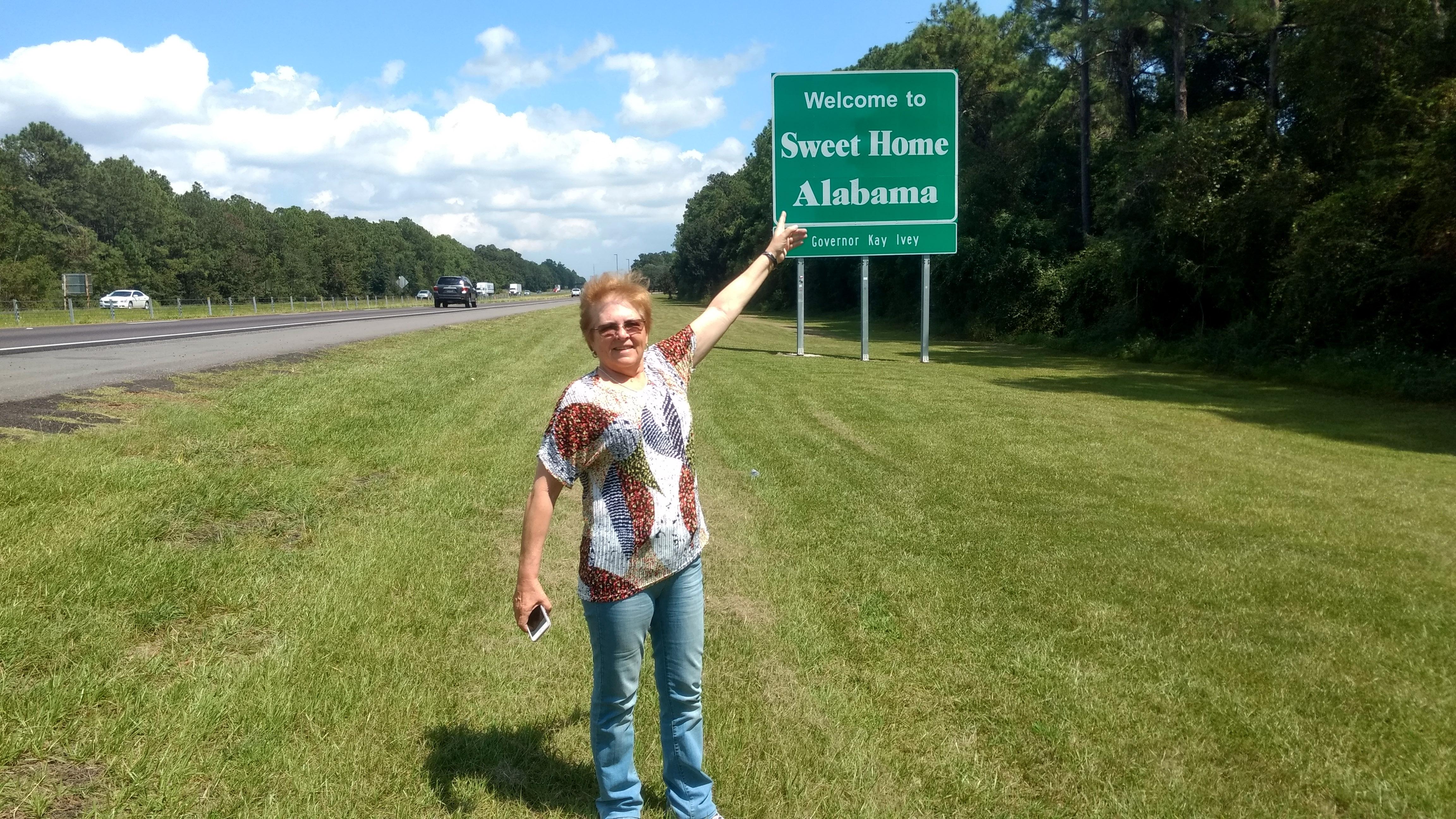 Chegando ao Alabama