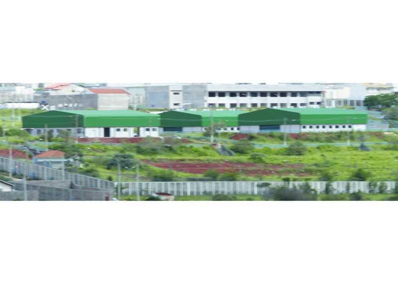 Campus da UFLA em Paraíso: boa parte da obra está quase concluída, mas algumas unidades ainda em andamento