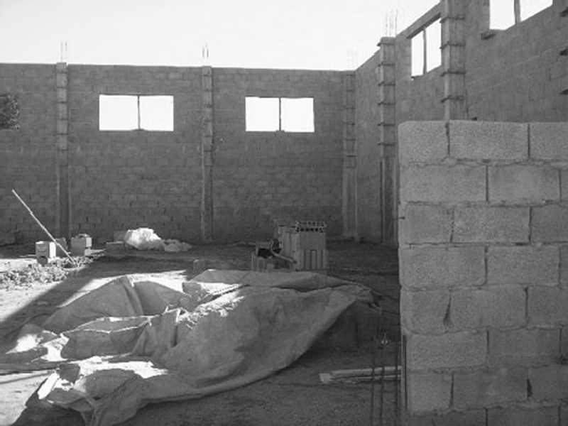 Construção da sede da Associação RENASCER