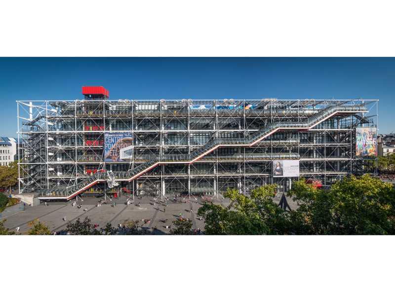 Reabertura do Pompidou