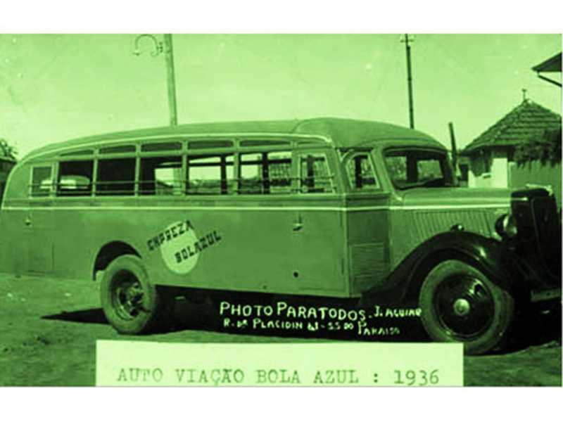 Auto Viação Bola Azul: 1936