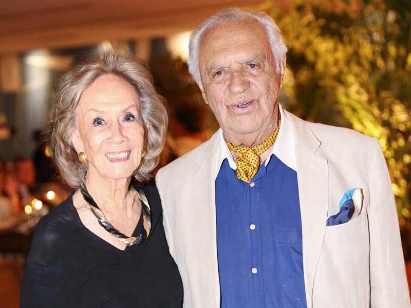 Emmy Chio Ming Netto e Gilberto Amaral