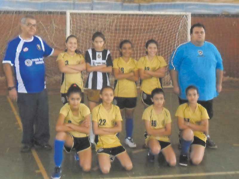 Equipe Sub-13 feminina