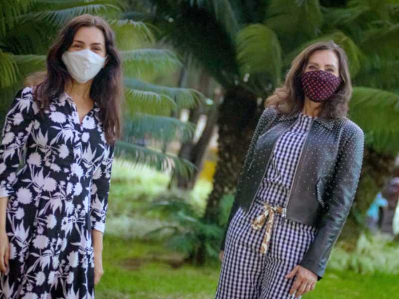 Cláudia Meireles e Cleucy Oliveira