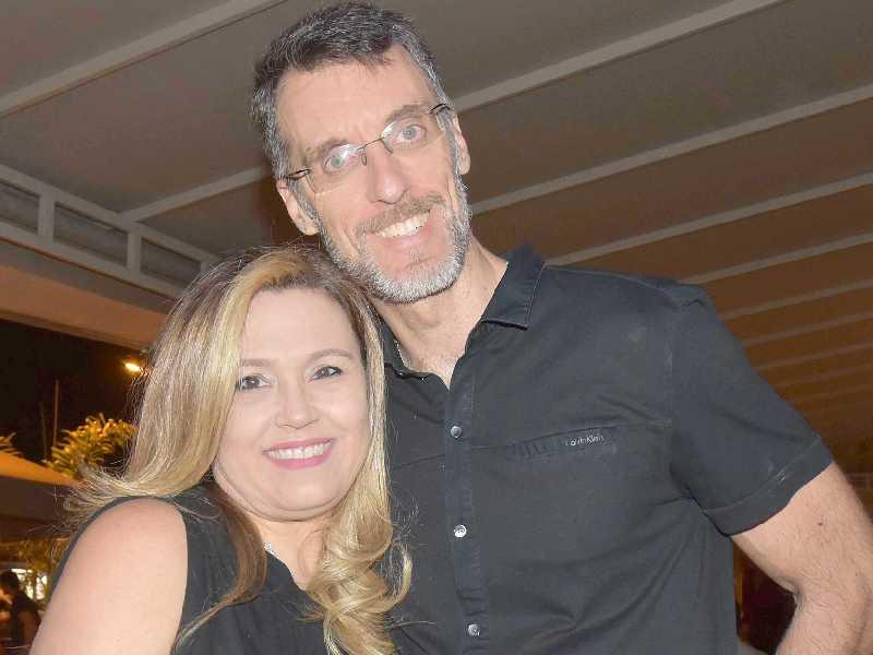 Paola Rodrigues e Frederico Aguiar
