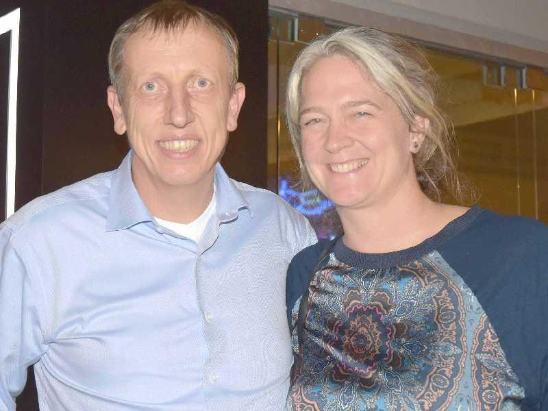 O coordenador para Desenvolvimento Sustentável do Banco Mundial, Paul Procee e Anna