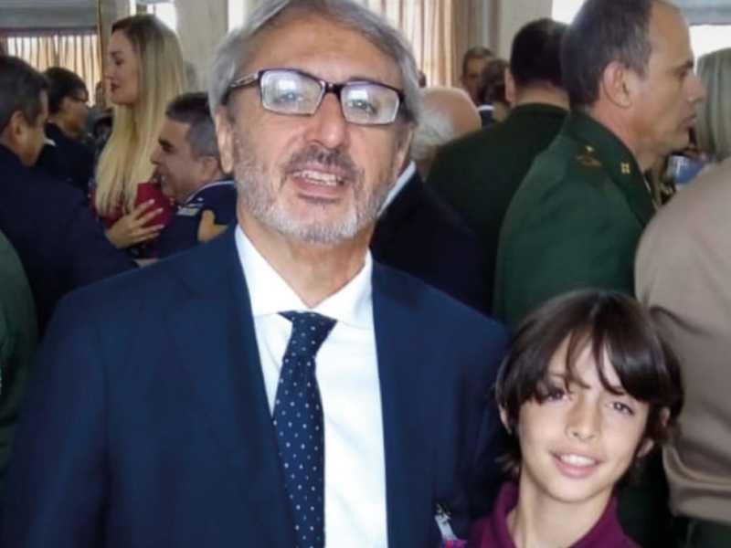 vice-presidente da Tim Brasil, Mário Girasole, visto aí com seu filho carioca da gem