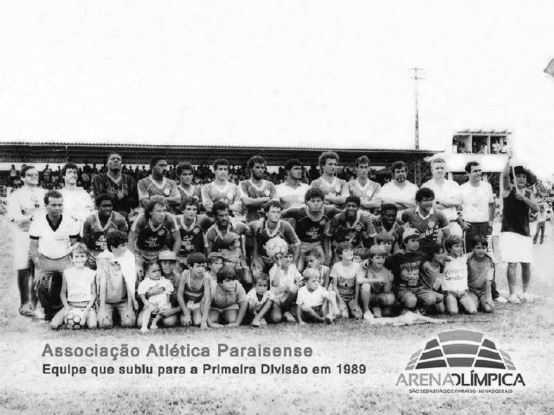 Equipe que subiu a Primeira Divisão em 1989