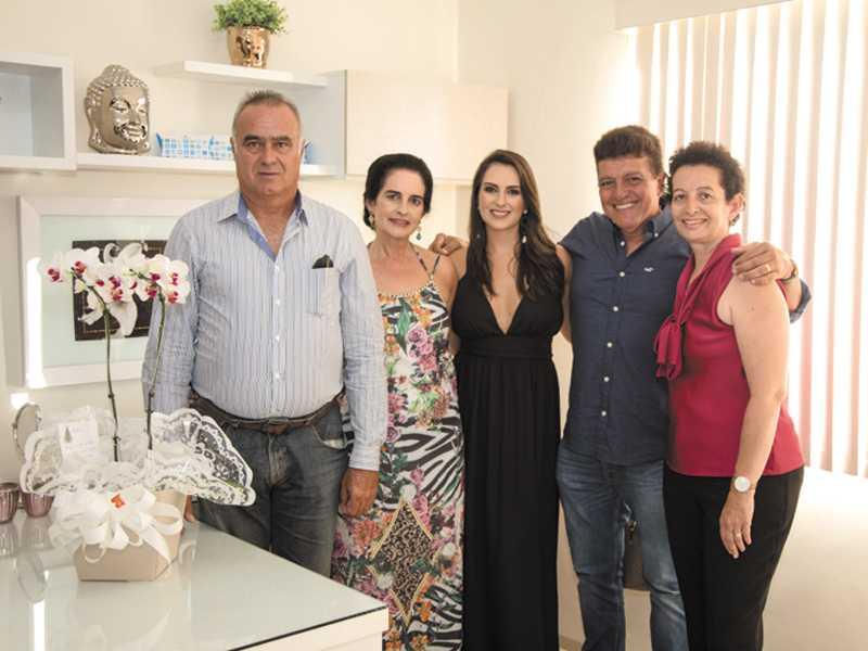 José Antonio, Christina, Dra. Christiane, Dr. Henry e Maria Helena
