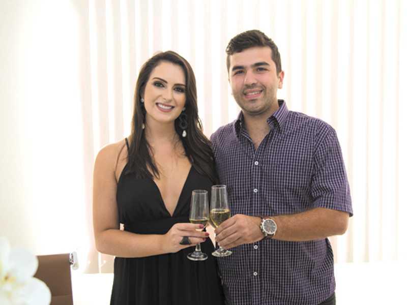 Dra. Christiana e Thiago Paulin