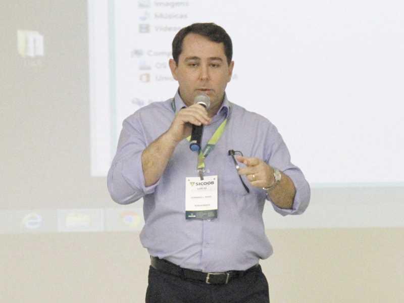 Leonardo Lima Diogo, presidente do Sicoob NossoCrédito