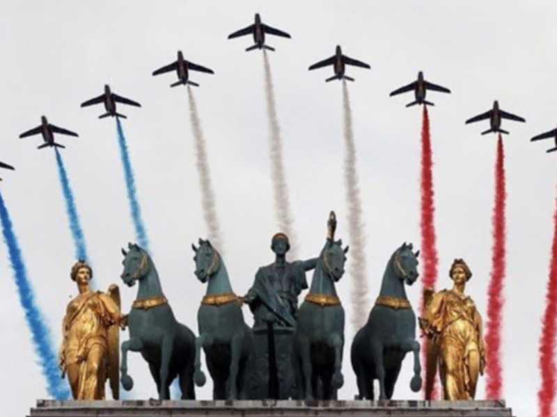Paris comemoração