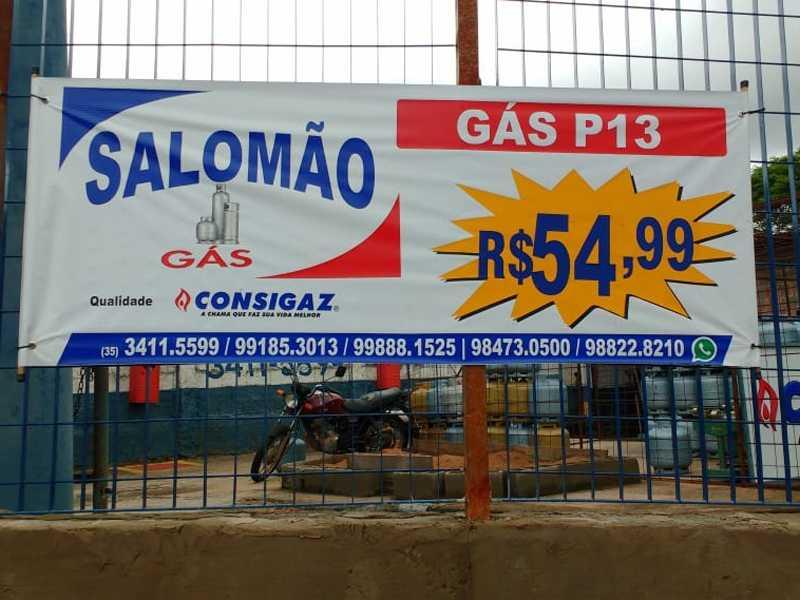 Salomão Gás , onde o preço do Gás é mais barato em Paraíso