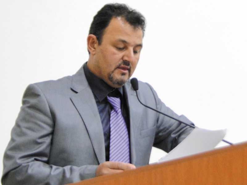 Vereador  José Luiz do Érica