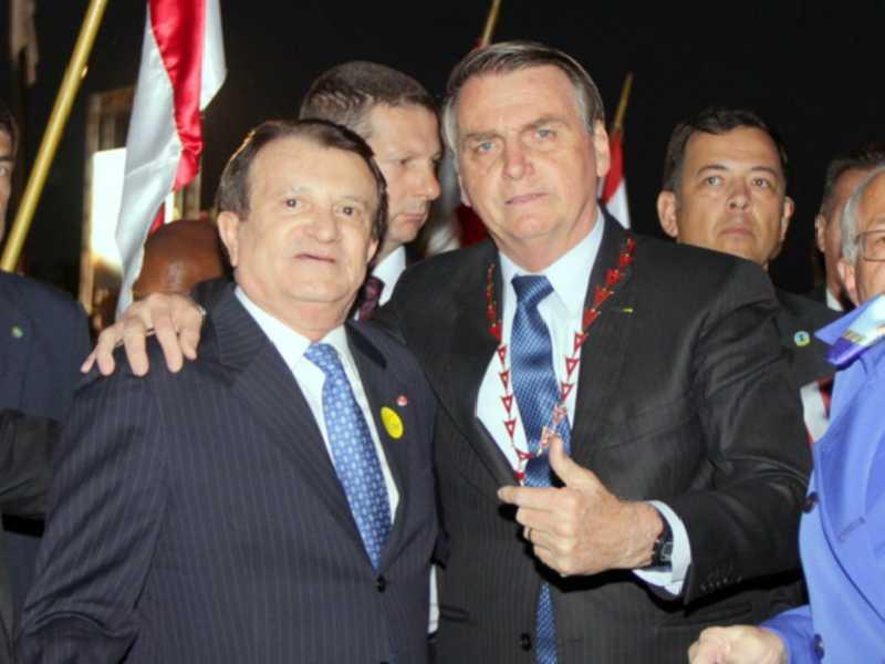 Estênio Campelo e Bolsonaro