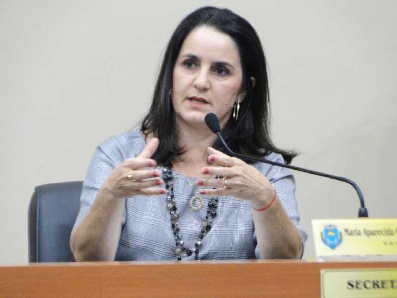 A Vereadora Cidinha Cerizze,  fisioterapeuta, aniversaria neste domingo dia 20.