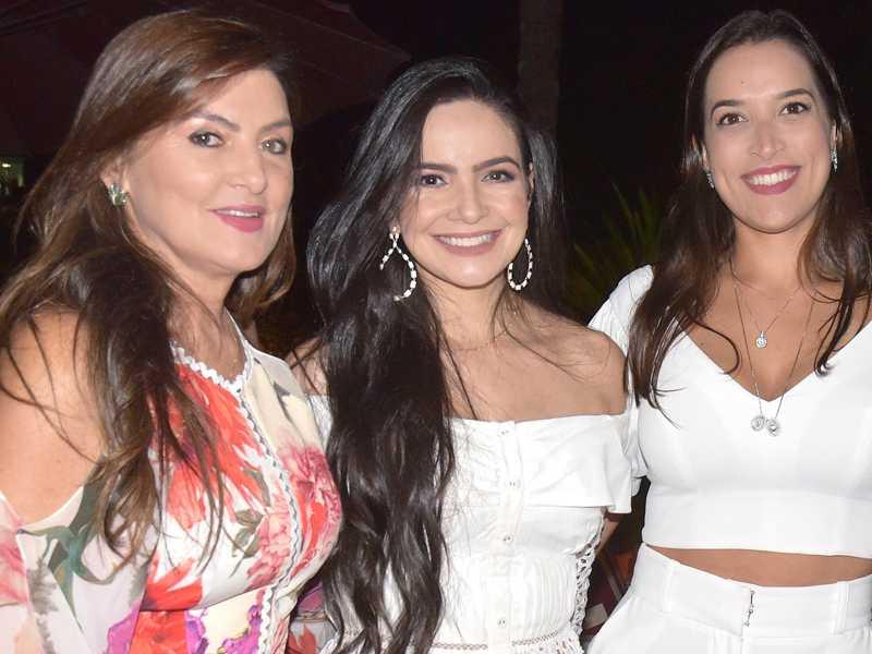 Eleusa Coronel, Mamia Rocha e Lia Resende