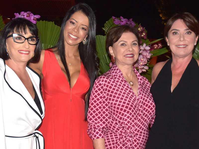Valeska Tonet Camargo, Flávia Thomas, Pompéia Addario e Mônica Chiabai da Fonseca - fotos de paulo lima