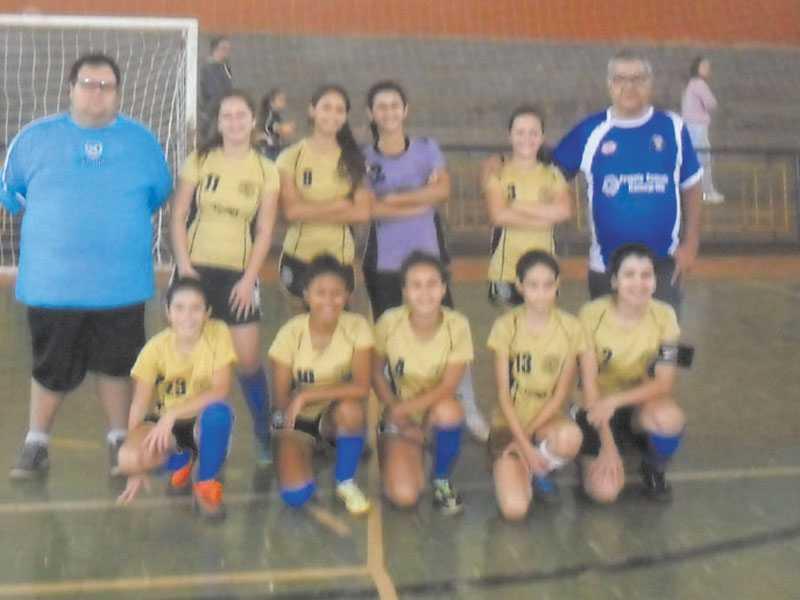 Equipe Sub-15 feminina