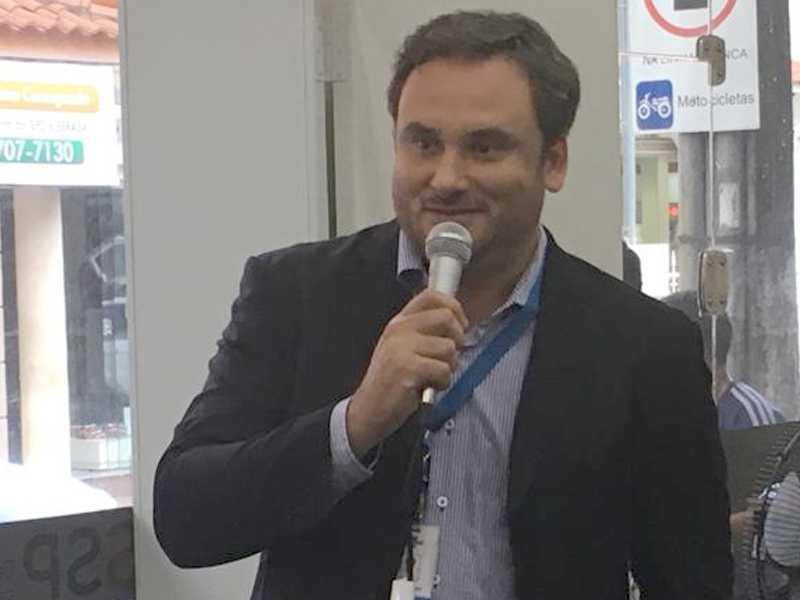 Gerente regional centro-oeste e sudoeste do Sebrae de Minas, Leonardo Mol de Araújo
