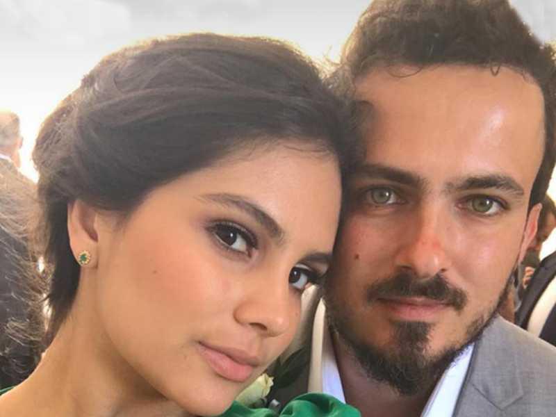 Um close do lindo casal, Luiza Lima e João Pedro Gurgulino de Souza, para iluminar a coluna de hoje