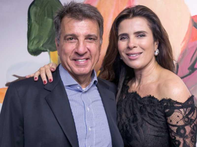Paulo Marinho e Adriana