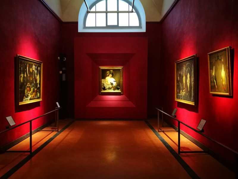 Sala Caravaggio Il Bacco