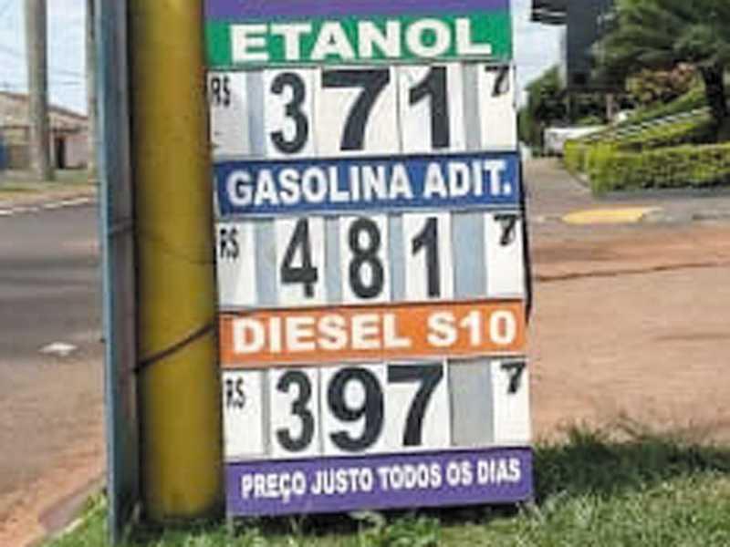 Preços praticados na  cidade paulista Altinópolis