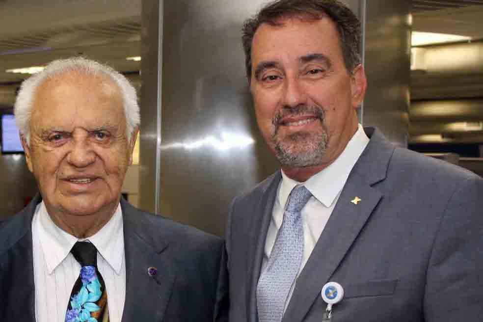 Gilberto Amaral e Gilberto Occhi - foto de Lorenna Carvalho Jardim
