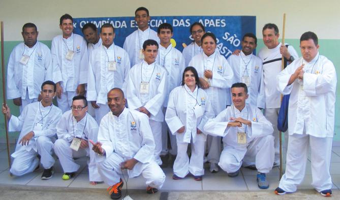 Alunos da Apae participam de II Festival de Artes das Apaes do Sudoeste Mineiro