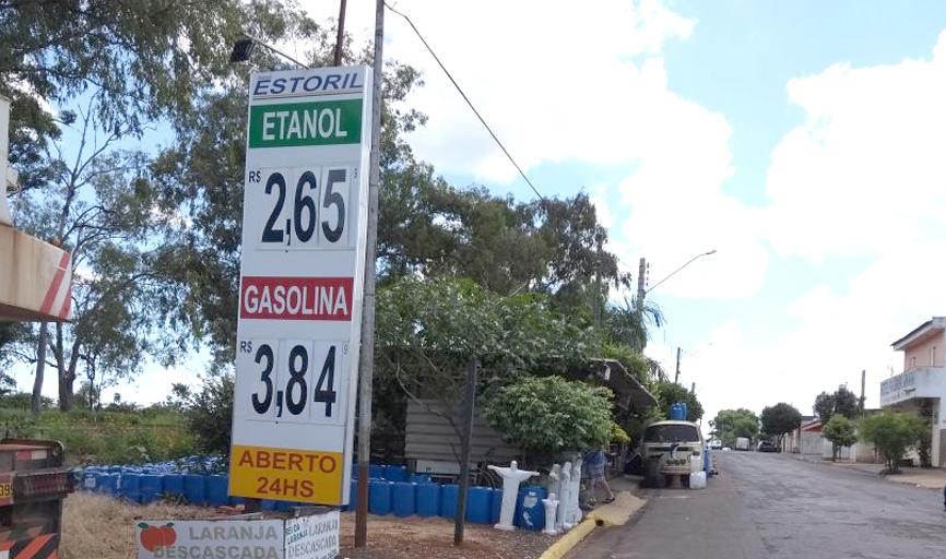 Preço dos combustível na cidade de Batatais - SP