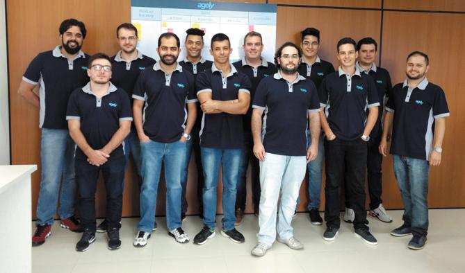 Equipe da Agely, responsável pelo desenvolvimento do aplicativo E-ctare