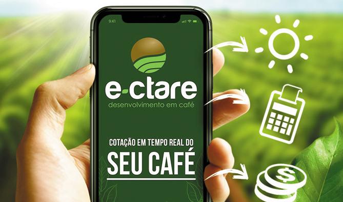 Aplicativo desenvolvido por paraisenses informa cotação do café e variações na Bolsa de Valores