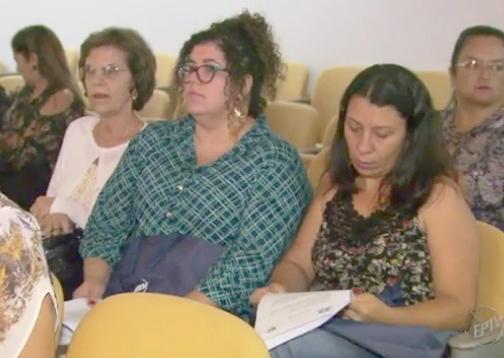 Educadoras de Paraíso participaram do lançamento do projeto em Poços de Caldas