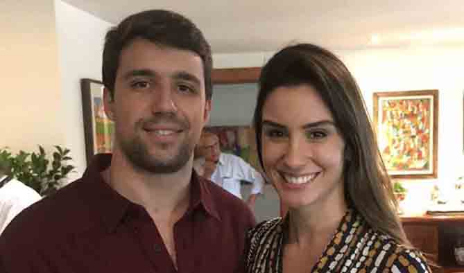 Bernardo Fialho e Mariana Gianelo