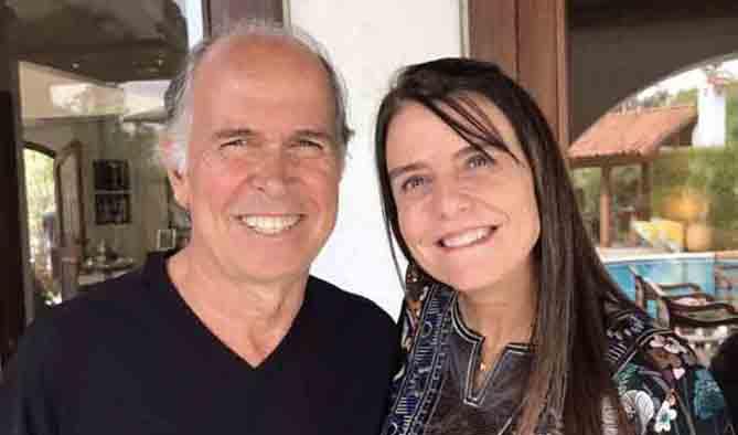 Edson Mendonça e Ana Luiza