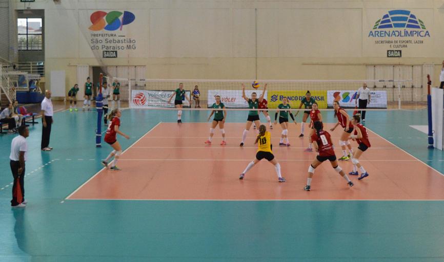 Jogos das seleções de estaduais de vôlei foram atrações na Arena Olímpica durante a semana