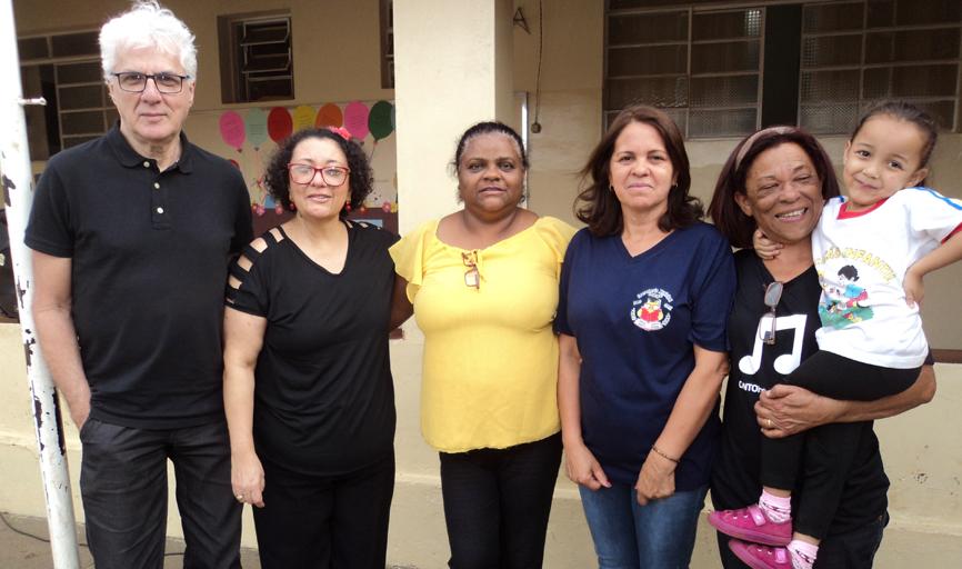 Artur, Ângela, Selma, Maria Angélica,  Marcia e sua neta Maria Fernanda