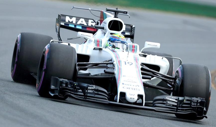 Temporada apagada deixa Massa apenas como opção para a Williams em 2018